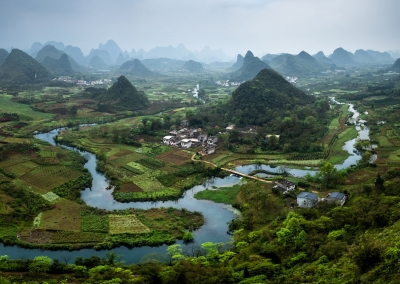 Cuiping Hill Yangshuo Xingping