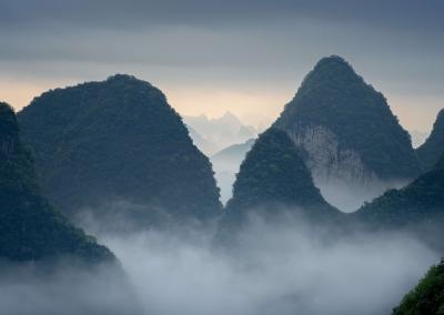 Karst mountain yangshuo