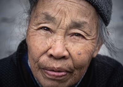 Portrait Dong woman Zhaoxing