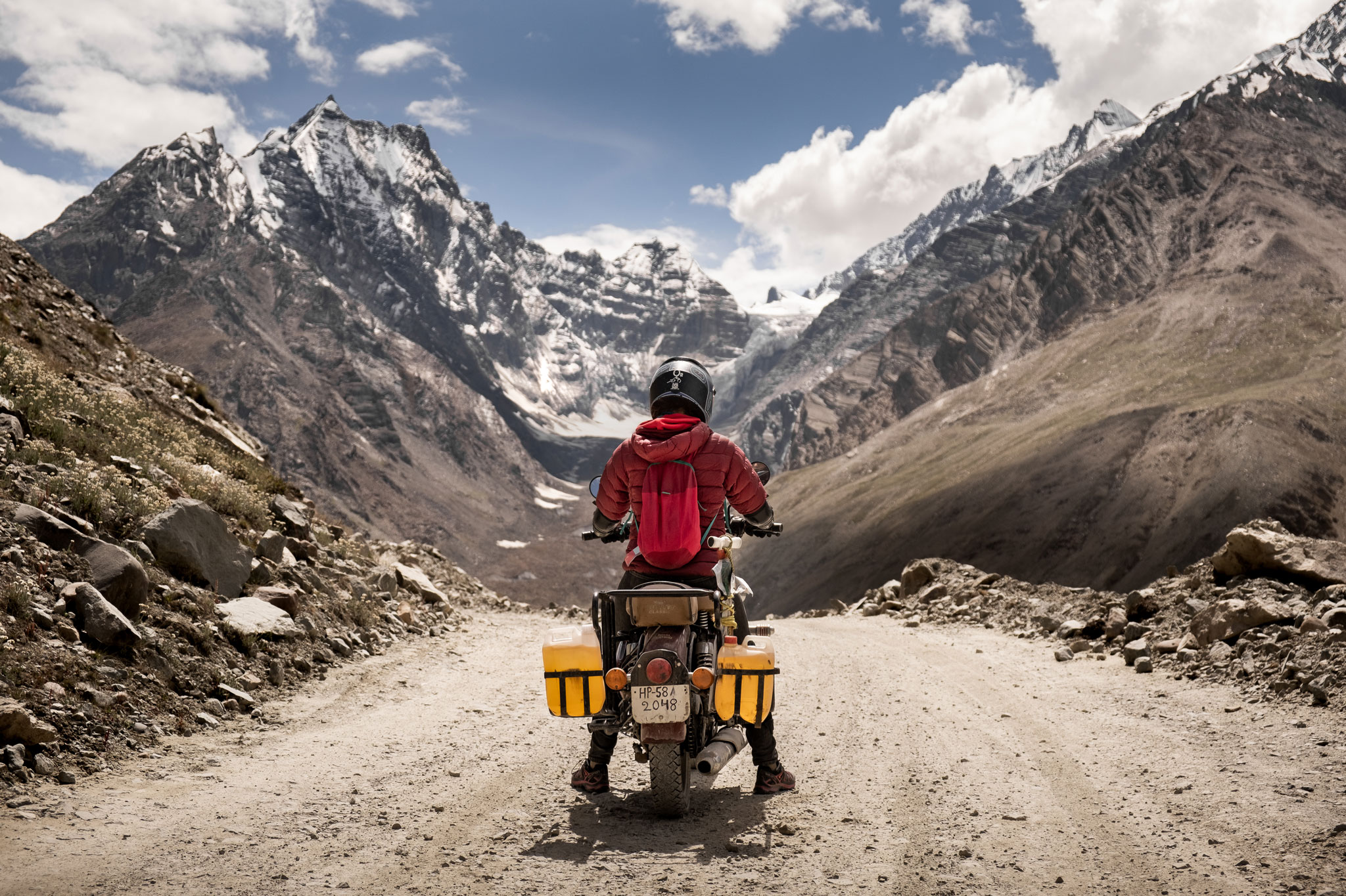 Spiti Valley on royal enfield