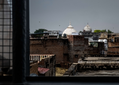 Agra city from our hotel