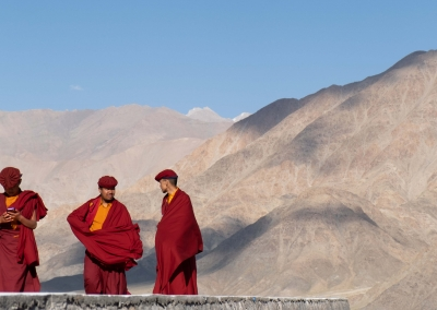 Monks at the Hemis Festival