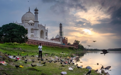 The hidden face of the Taj Mahal – India