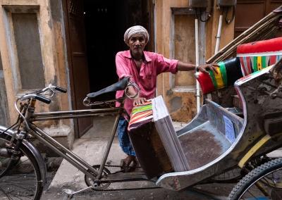 Rickshaw in Varanasi