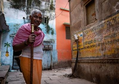 Varanasi man street
