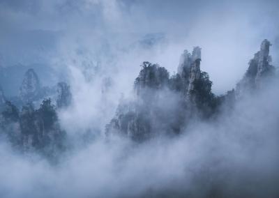zhangjiajie-fog