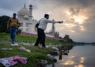 Taj Mahal - Sunset
