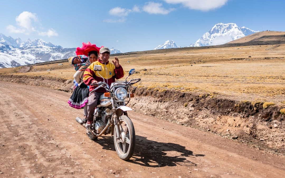 Motorcycle explorations in Cusco – Peru