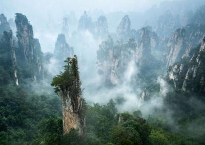 Tanzi Mountain - Zhangjiajie