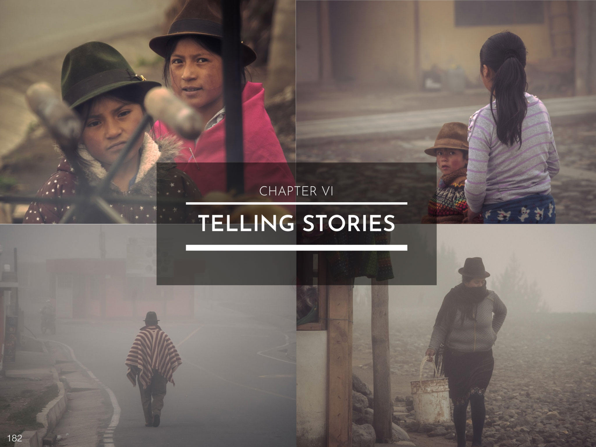 CHAPTER VI - STORY-TELLING