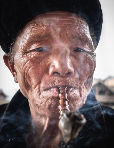 CHINESE DONG MINORITY PORTRAIT