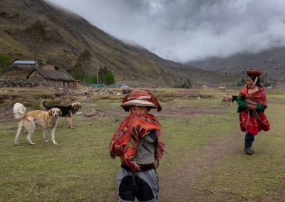 MEETING WITH THE NEXT QUECHUA GENERATION
