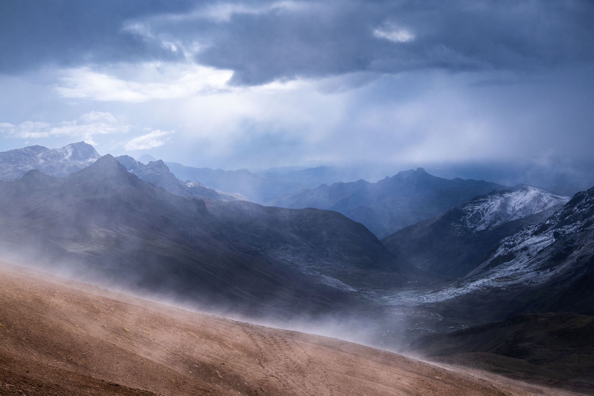 MOODY ANDEAN LANDSCAPE