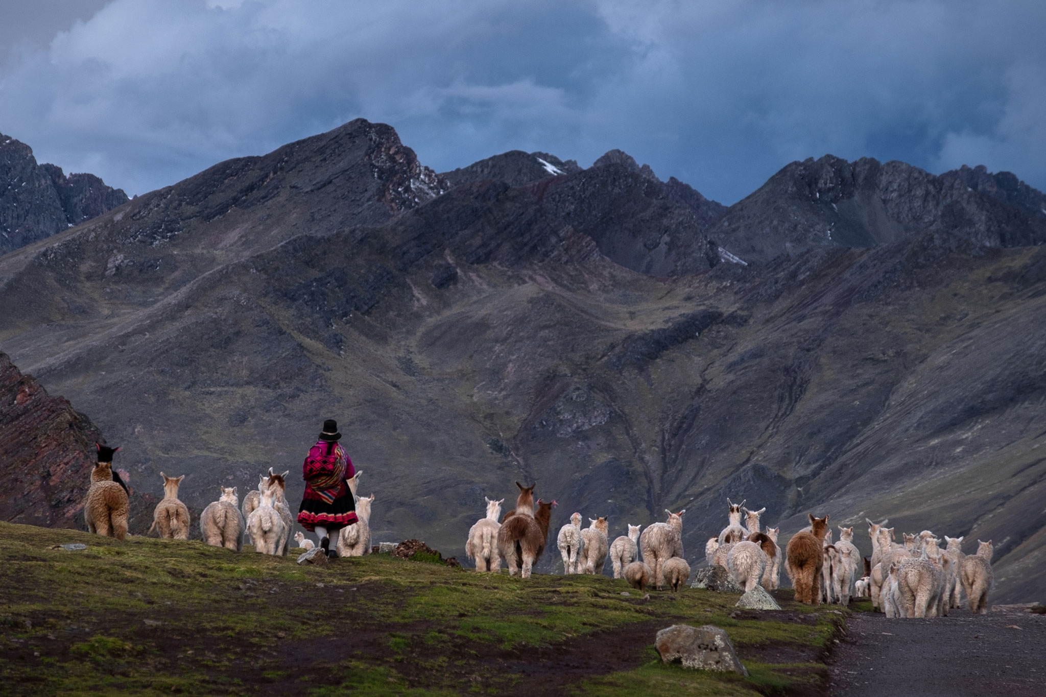 PERUVIAN LIFESTYLE IN THE ANDES