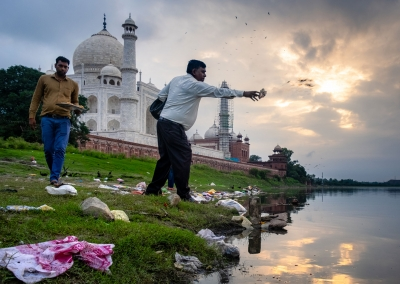 POLLUTION AND TRADITIONS AT THE TAJ MAHAL