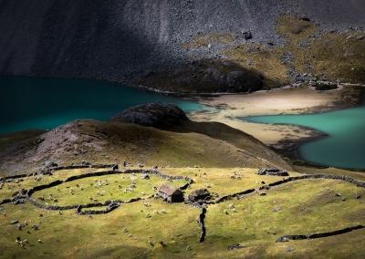 QUECHUA HOUSE IN PERU