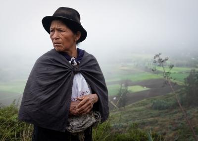QUICHUA WOMAN FROM ECUADOR