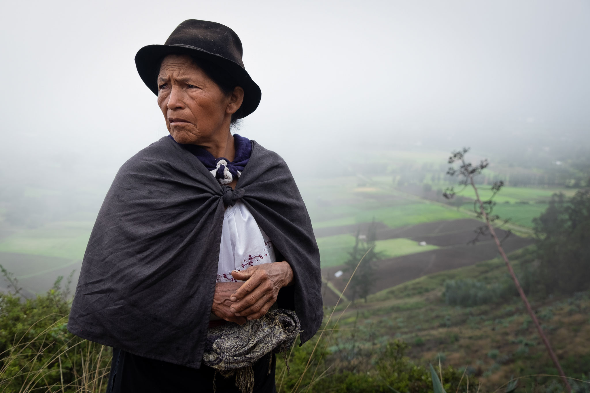 QUICHUA WOMAN FROM ECUADOR