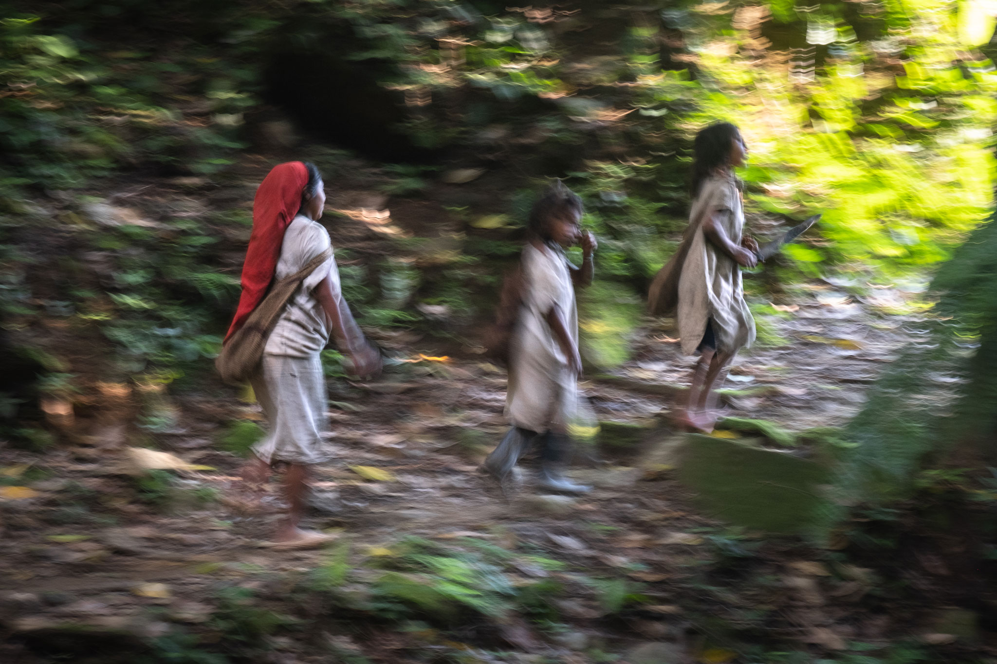 WIWA INDIGENOUS TRIBE IN THE SIERRA NEVADA DE SANTA MARTA