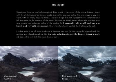 CREATE A SENSE OF MOOD