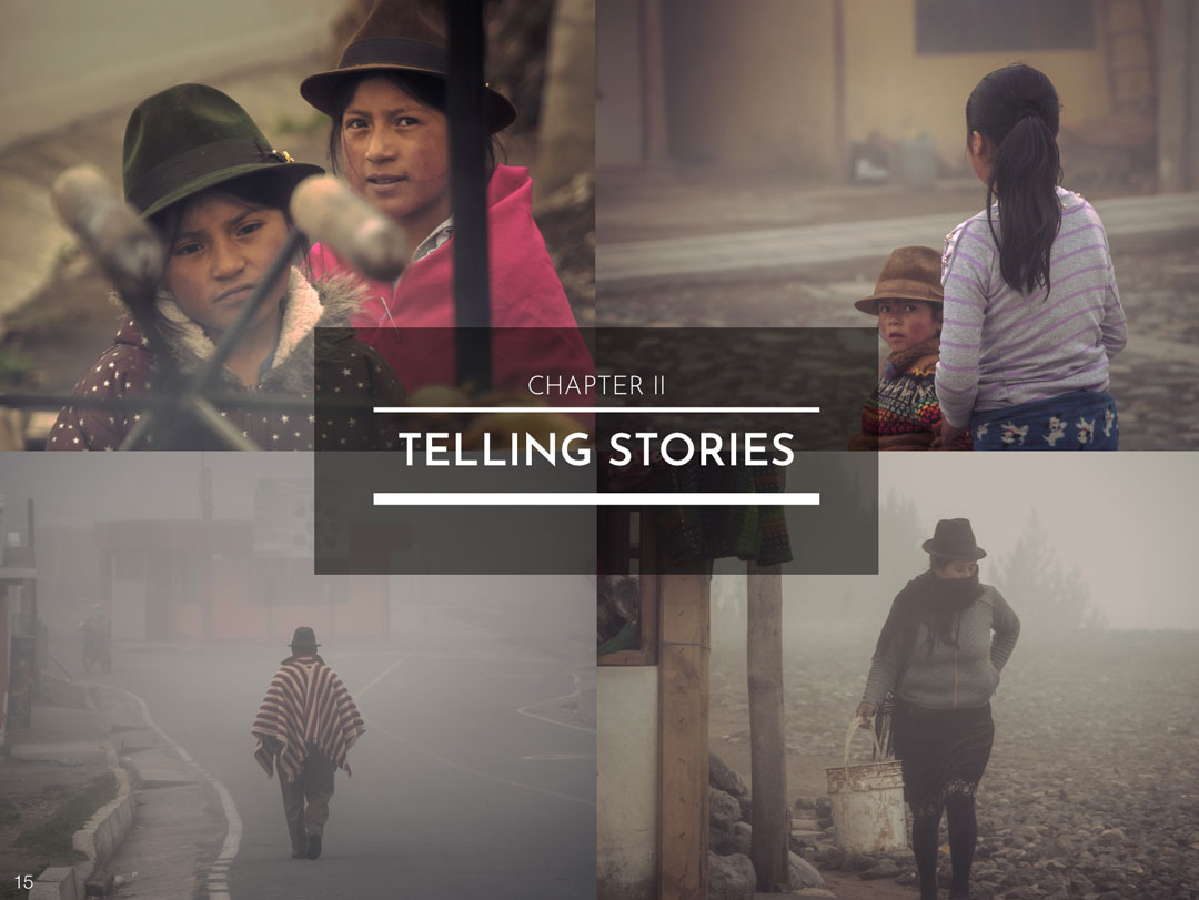 CHAPTER II : TELLING STORIES