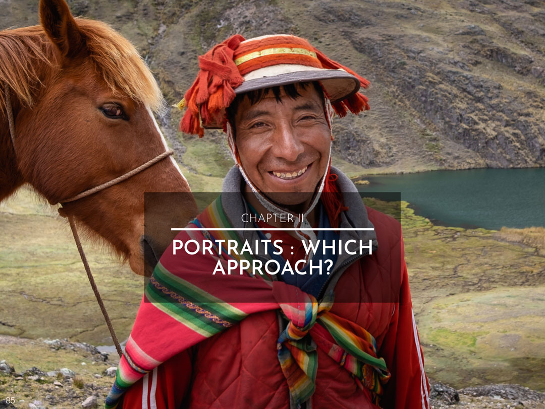 CHAPTER II : PORTRAITS - WHICH APPROACH?