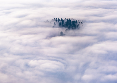 ABOVE THE SEA OF CLOUDS POLAND