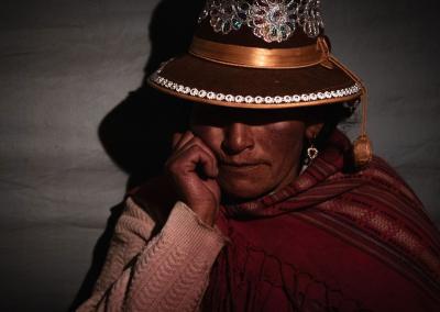 QUECHUA WOMAN OF AUSANGATE